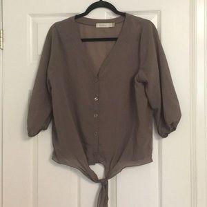 Costa Blanca button up shirt
